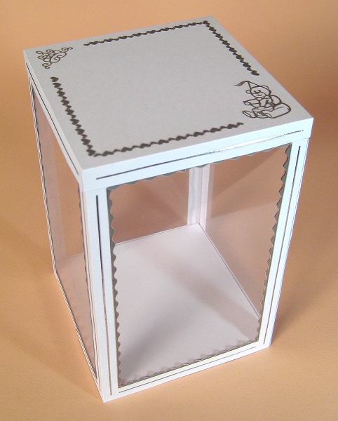 Card Craft / Card Making Templates - Carousel Display Box
