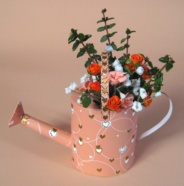 Card Craft / Card Making Templates - Watering Can