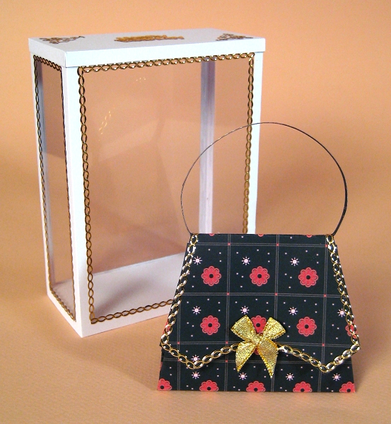 Card Craft / Card Making Templates - Handbag and Display Box