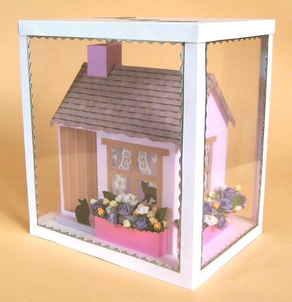 Card Craft / Card Making Templates - Country Cottage in Display Box