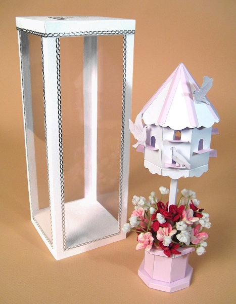 Card Craft / Card Making Templates - Dovecote and Display Box