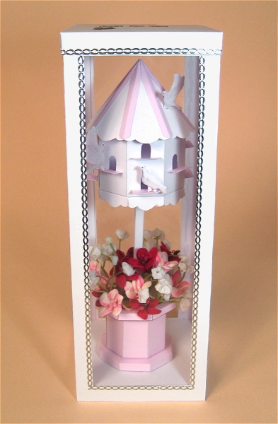 Card Craft / Card Making Templates - Dovecote in Display Box