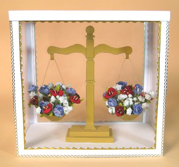 Card Craft / Card Making Templates - Flower Scales in Display Box