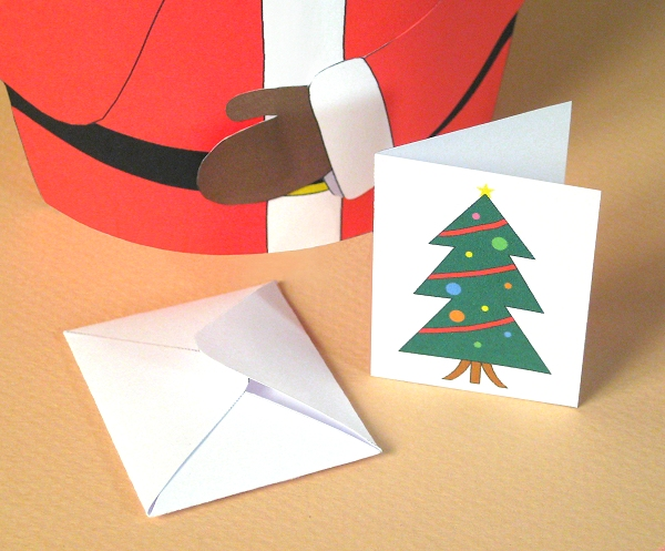 Card Making Downloads for Christmas - Customisable Christmas Card