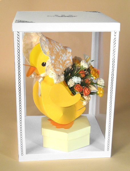Card Making Templates - Esmerelda the Easter Duckling in display box