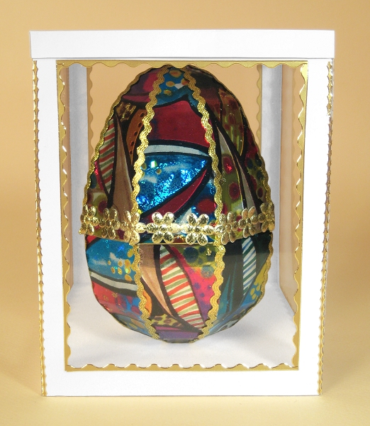 Card Making Downloads - Easter Egg in display box