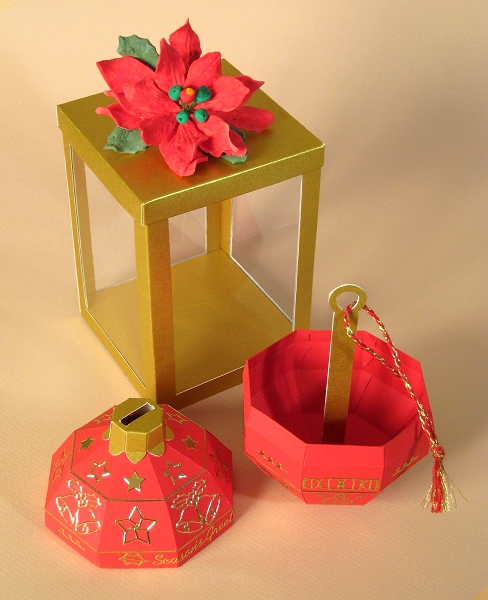 Card Craft Templates - Christmas Bauble