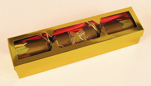 Card Craft Templates - Christmas Cracker in Gift Box