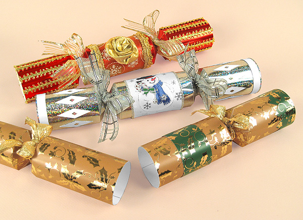 Card Craft Templates - Christmas Crackers