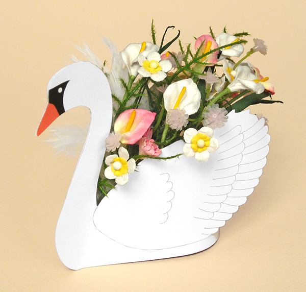 Card Craft Templates - Swan