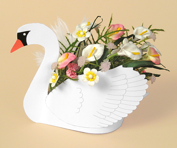 Card Making Downloads - Swan