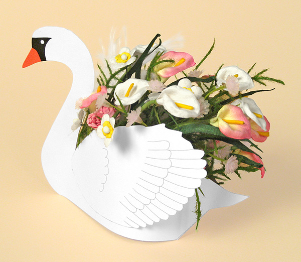 Card Making Templates - Swan