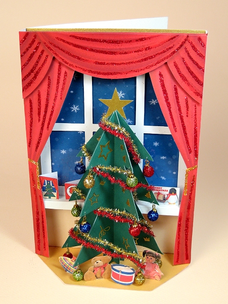 Card Craft / Card Making Templates - The Night Before Christmas