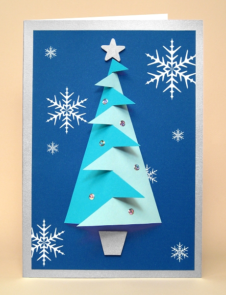 Card Craft / Card Making Templates - Christmas Tree Card Embellishment: www.cardcarousel.co.uk/store/index.php?main_page=document_product...