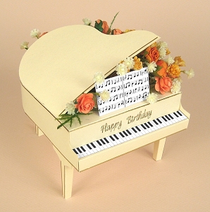 card craft card making templates 3d grand piano by card carousel