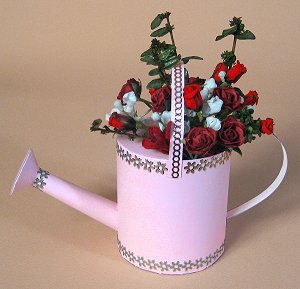 card craft card making templates 3d watering can by card carousel
