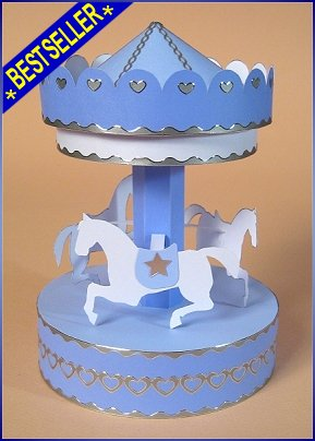 Card Making Templates for 3D Carousel